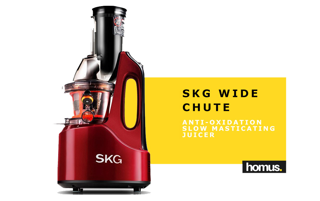 SKG Wide Chute Anti-Oxidation Slow Masticating